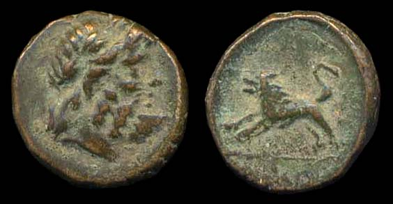 Bronce de Pisidia, Komama. Siglo I a.C. Ancg-sg5451-1