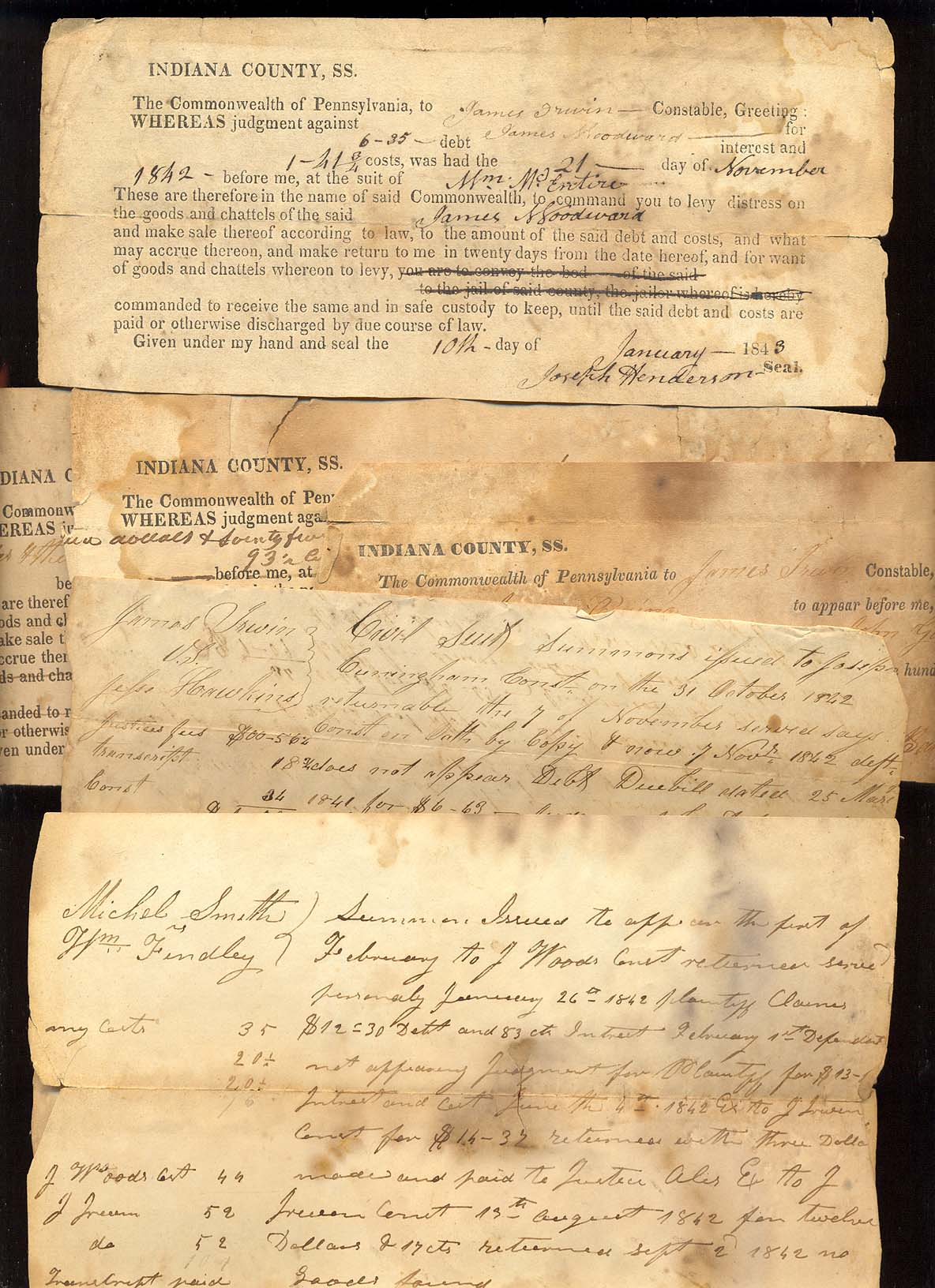 old american documents