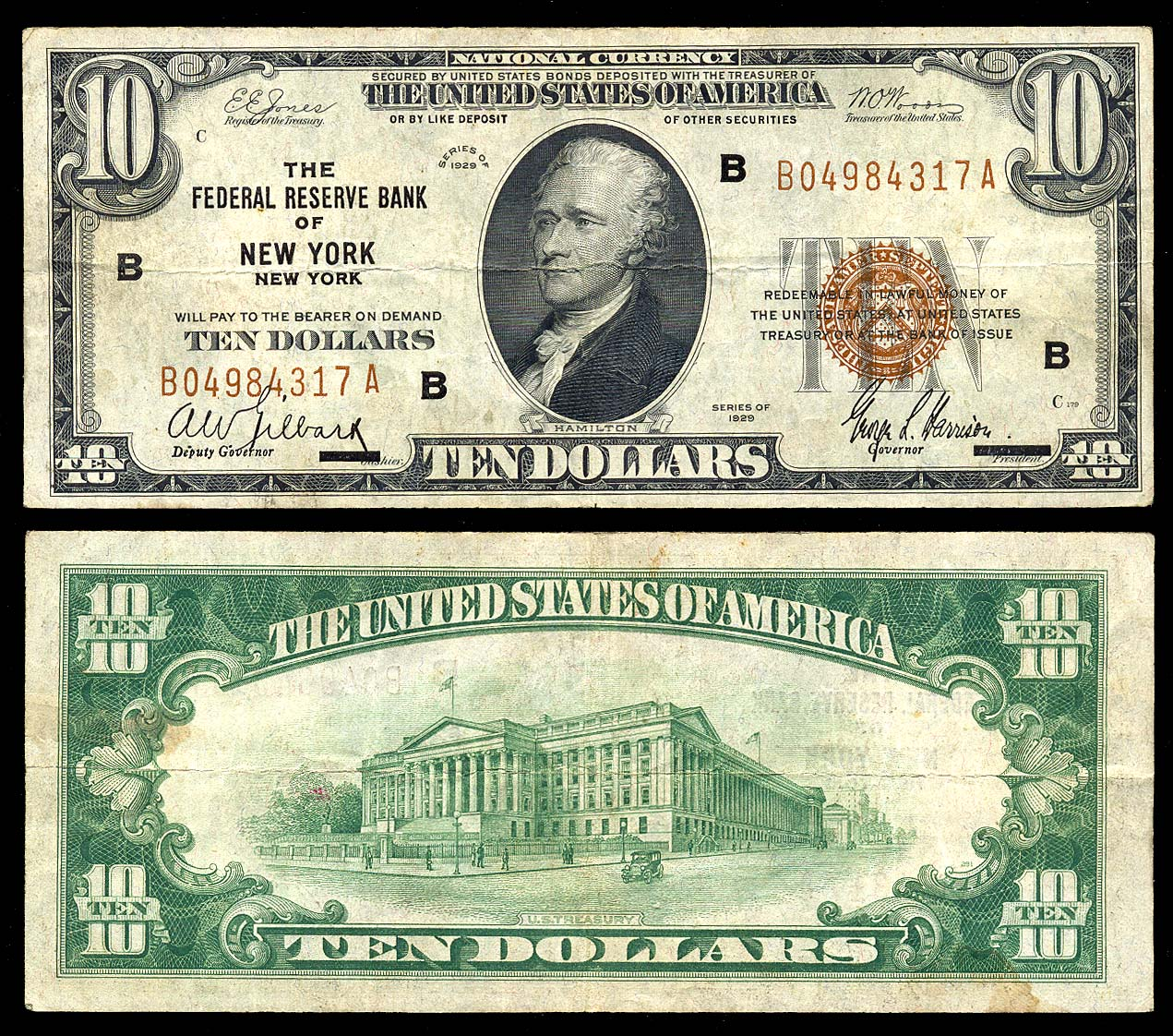 Usa Small Size Banknotes